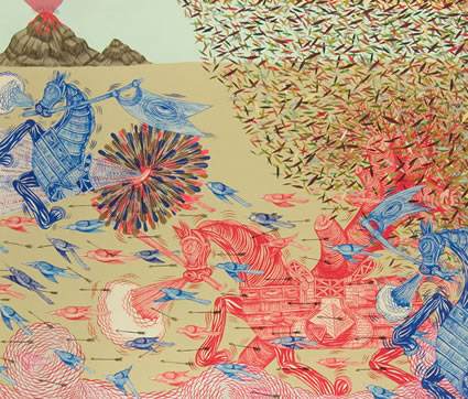 Andrew Schoultz - San Francisco, CA artist