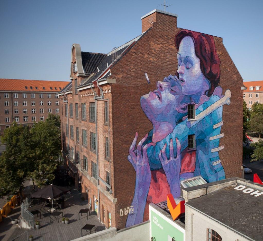 Aryz - Barcelona, Spain artist