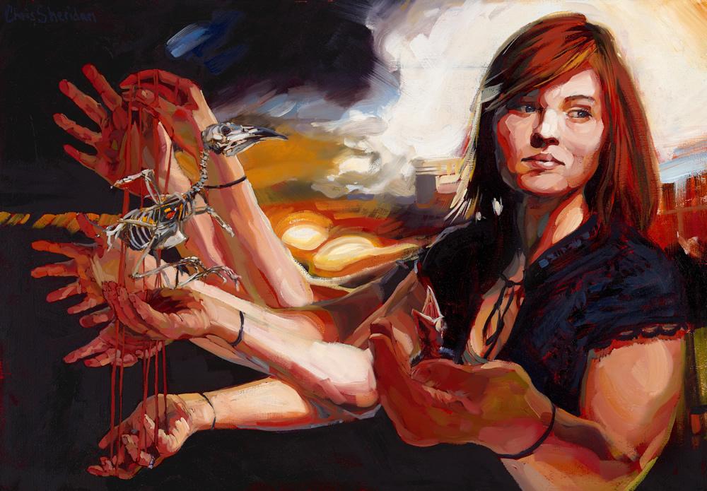 Chris Sheridan - Seattle, WA artist