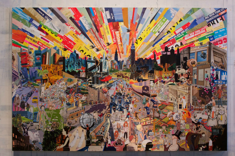 Christopher Faust - Boston, MA Artist - Collage Artists - Painters ...