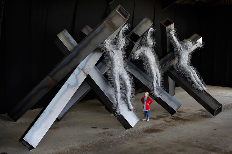 David Mach - London, UK artist