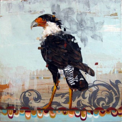 Elmhurst NY Bird Painter Frank Gonzales - New York Artist - Artistaday.com