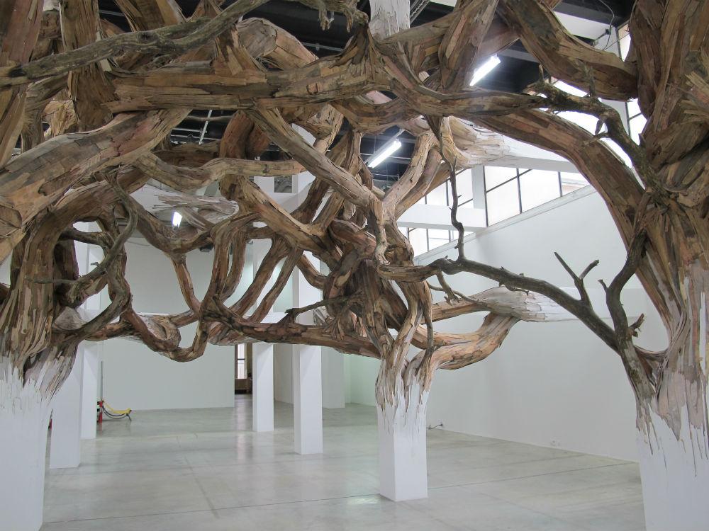 Henrique Oliveira - Sao Paulo, Brazil artist