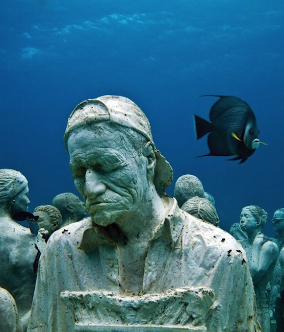 Jason deCaires Taylor - Cancun, Mexico artist
