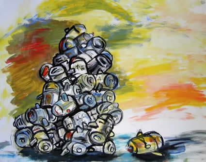 Richard Mullins - Dallas, TX artist