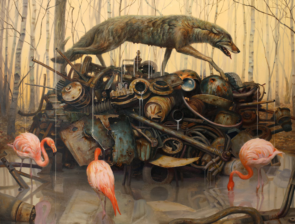 Martin Wittfooth - Brooklyn, NY artist
