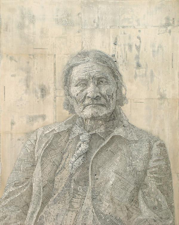 Matthew Cusick - Dallas, TX artist