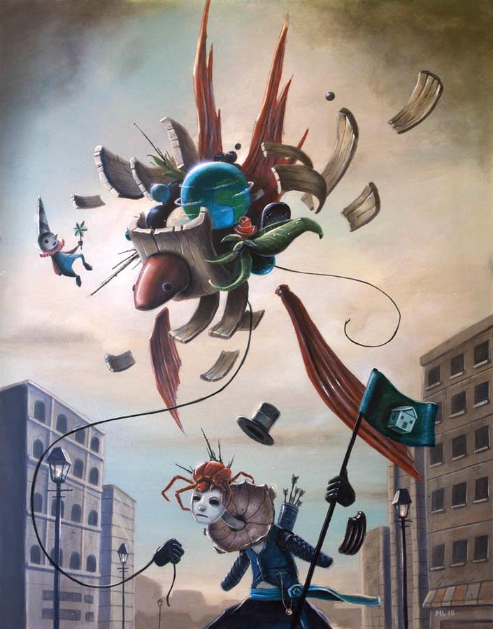 Matt Linares - Portland, OR artist