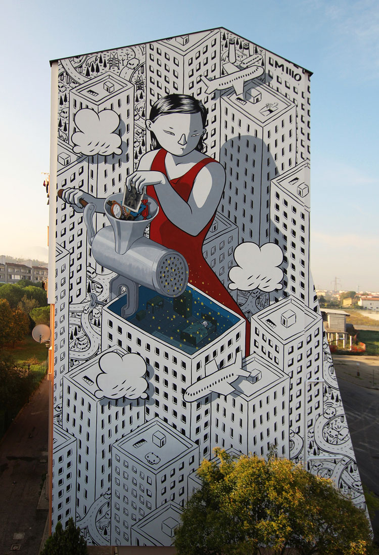 Millo - Pescara, Italy artist