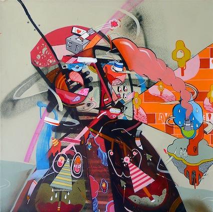 Sickboy - Bristol, UK artist