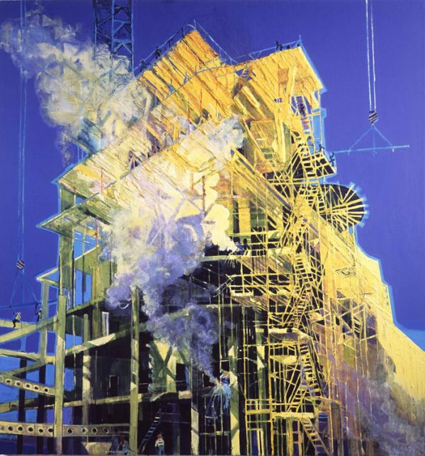 Simon McWilliams - Belfast, Northern Ireland artist