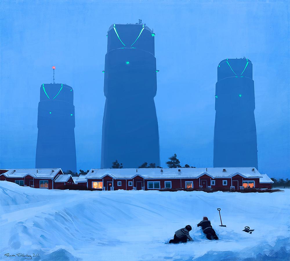Simon Stalenhag - Stockholm, Sweden artist