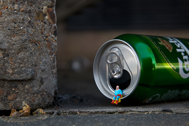 Slinkachu - London, UK artist