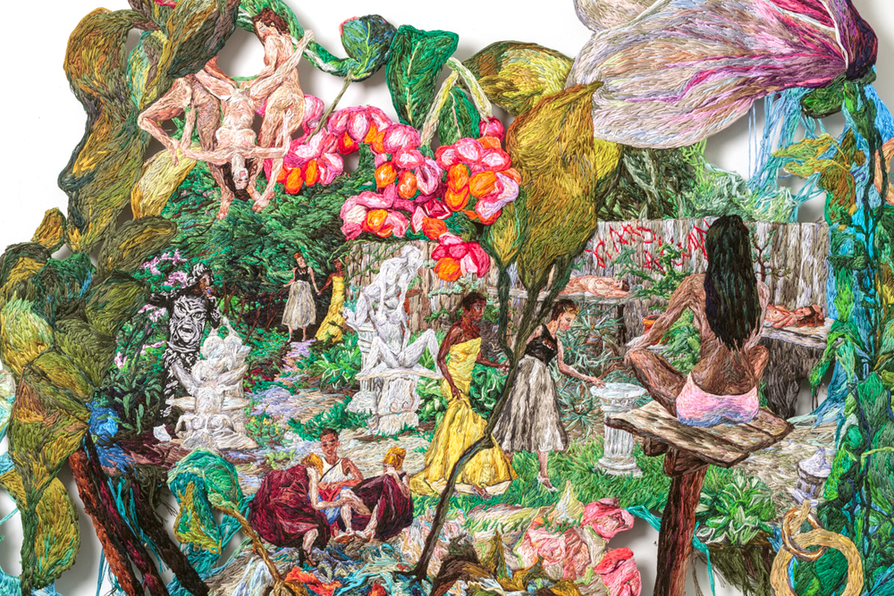Sophia narrett brooklyn ny artist fiber artists