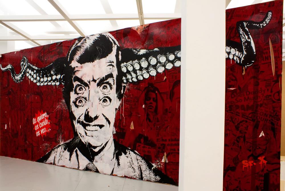 Sr. X - Gijon, Spain artist