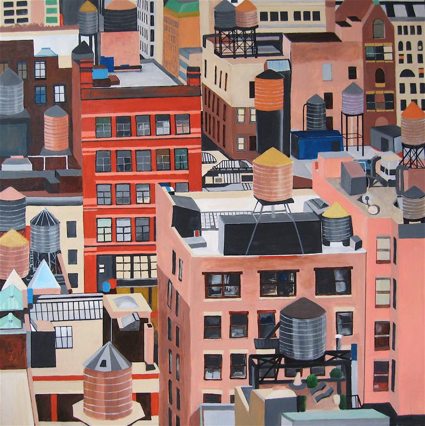 Toni Silber-Delerive - New York, NY artist