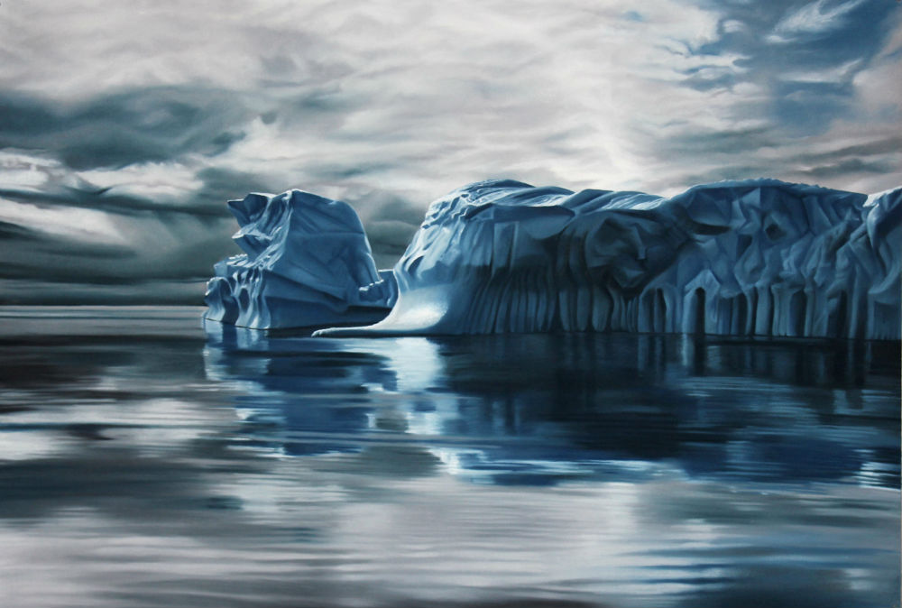 Zaria Forman - Brooklyn, NY artist